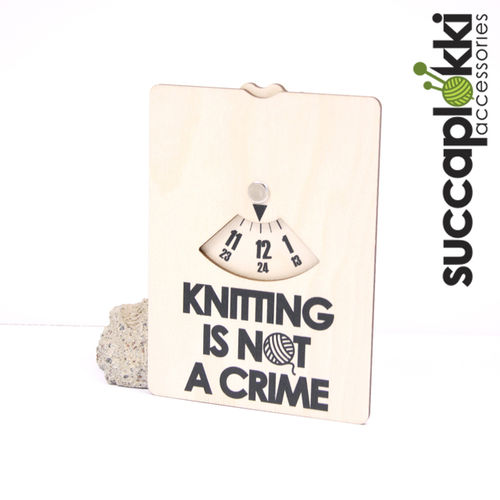 Parkkikiekko, Knitting Is Not A Crime